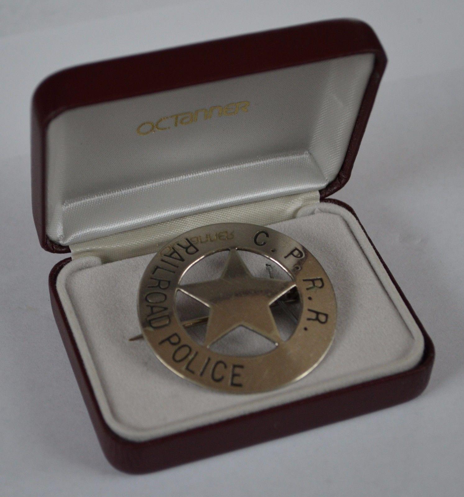 CPRR Police Badge