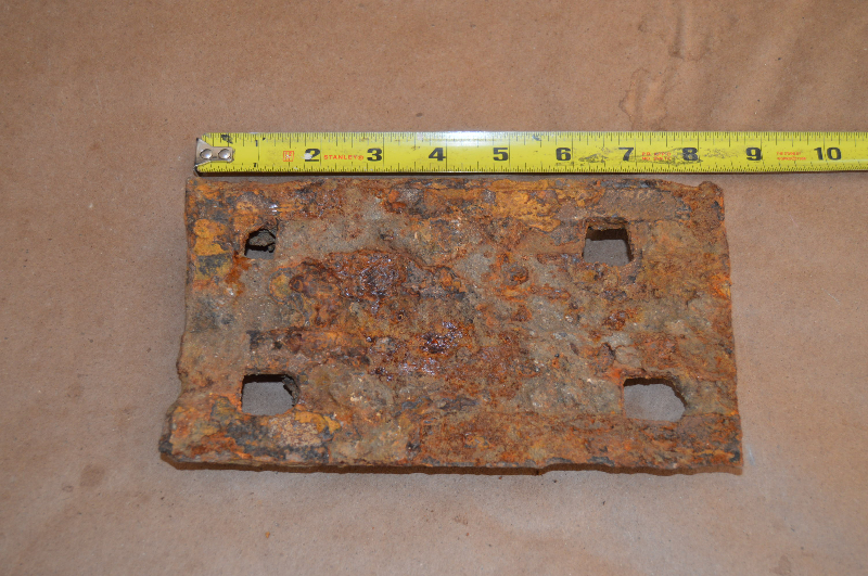 CPRR tie plate