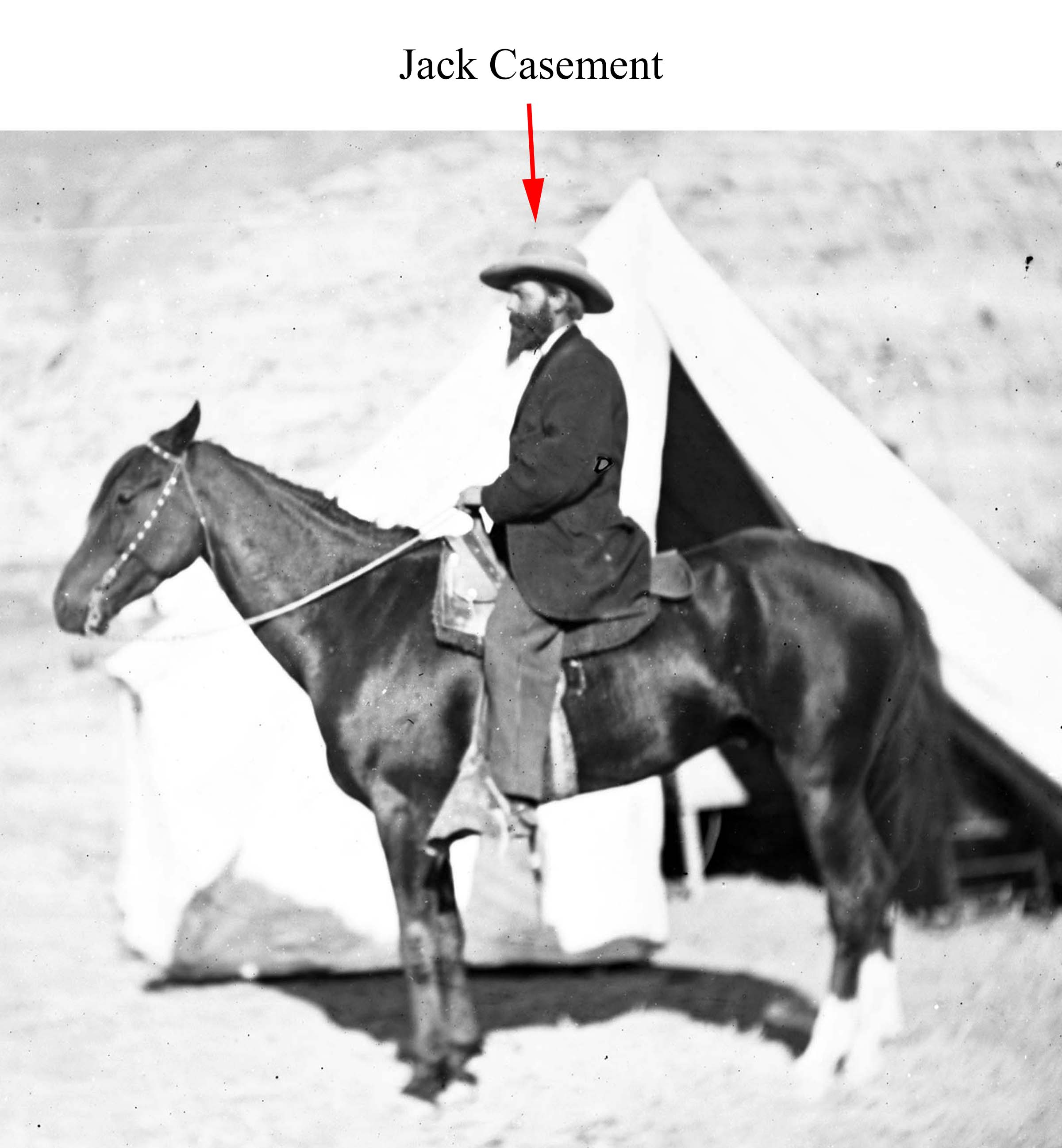 Jack Casement - S-206 General Casement on horseback - Oakland Mus H69-459-2183_13AR_2734_F2 crop