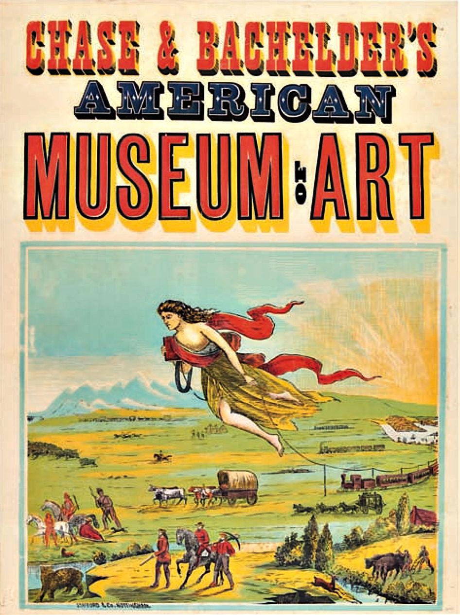 CHASE & BACHELDER'S AMERICAN MUSEUM OF ART
