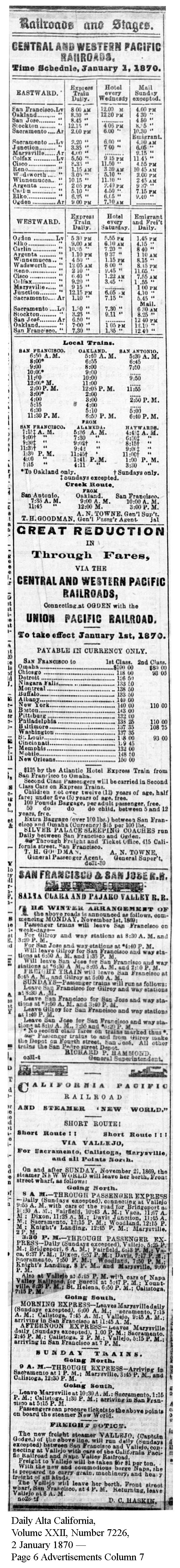 Daily Alta California, Volume XXII, Number 7226, 2 January 1870 - Page 6 Advertisements Column 7