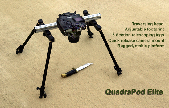 Quadrapod Elite Photographic Copy Stand