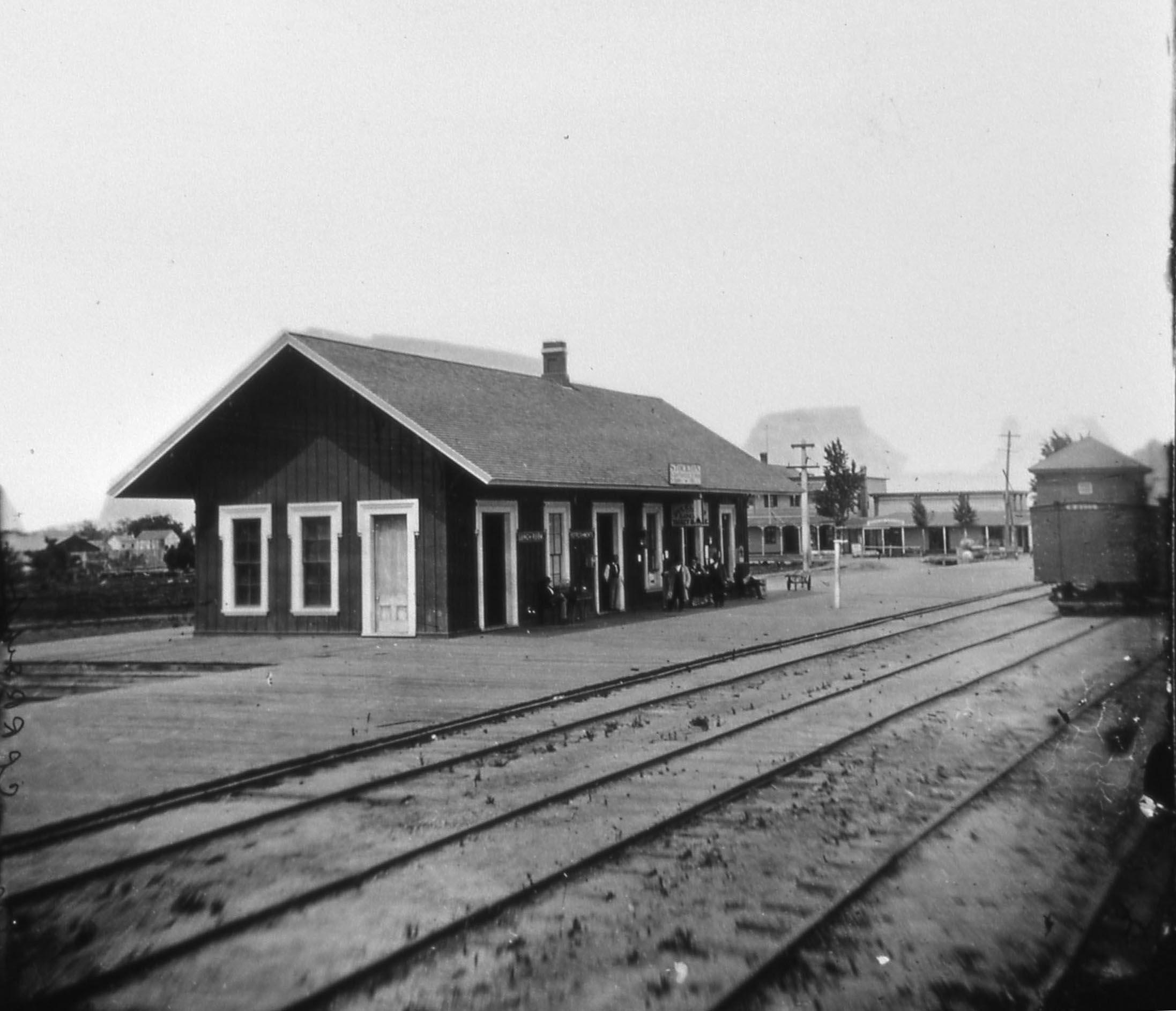 Spooner CPRR stockton depot
