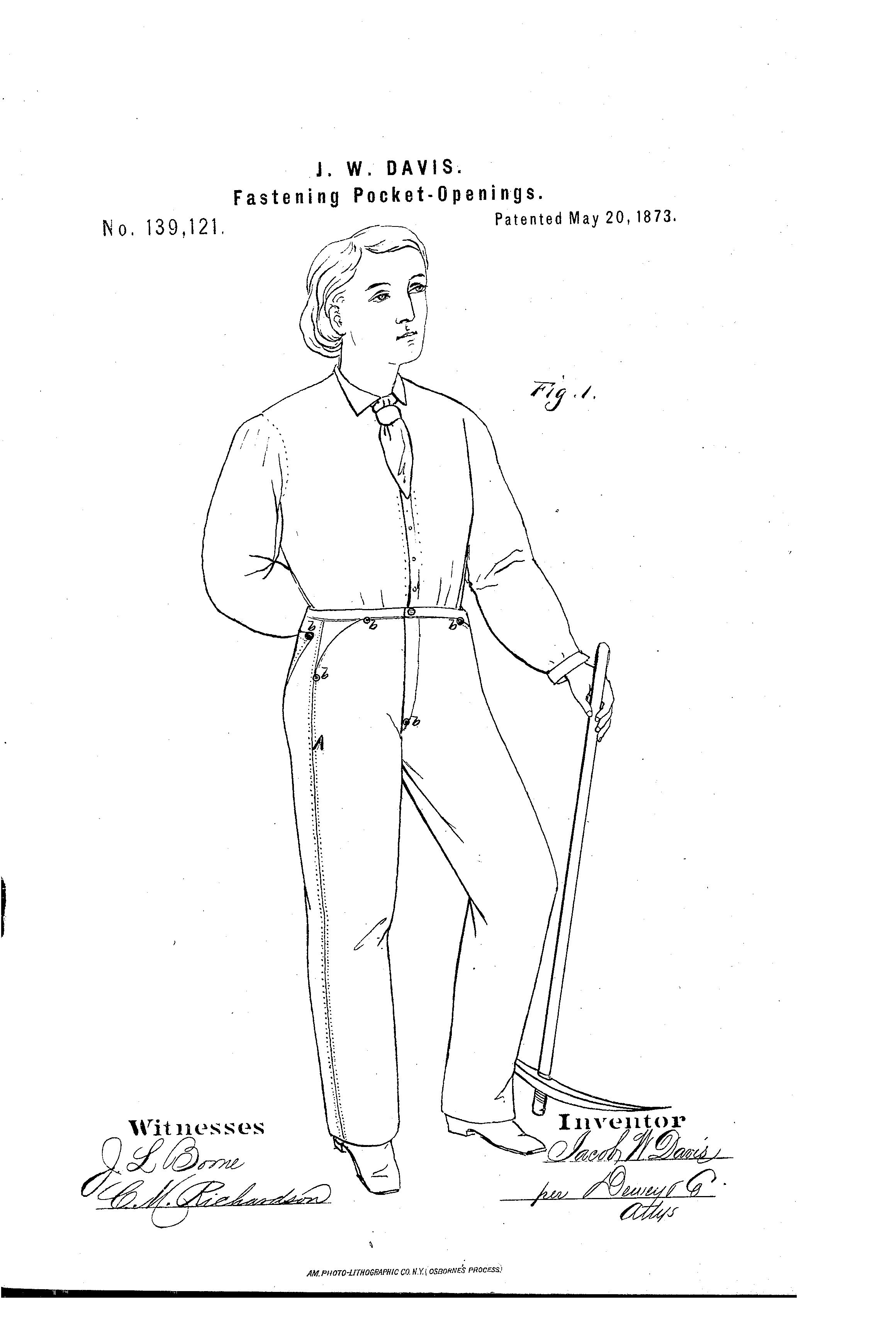 Blue Jeans Patent
