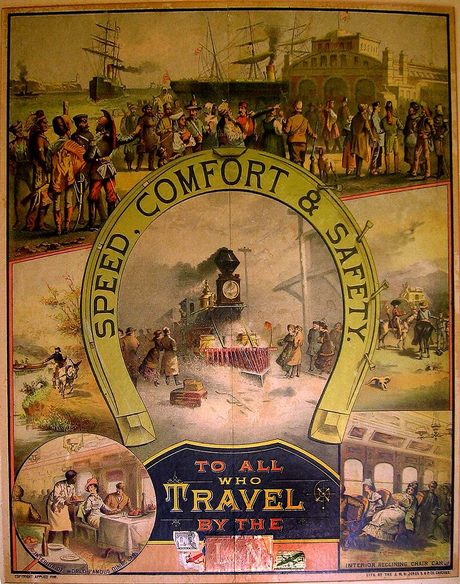 railroad lithograph