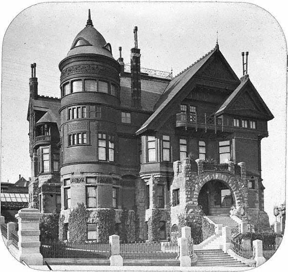 Charles Crocker Mansion, Nob Hill, San Francisco