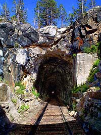 Summit Tunnel Composite Image by Bruce Cooper.